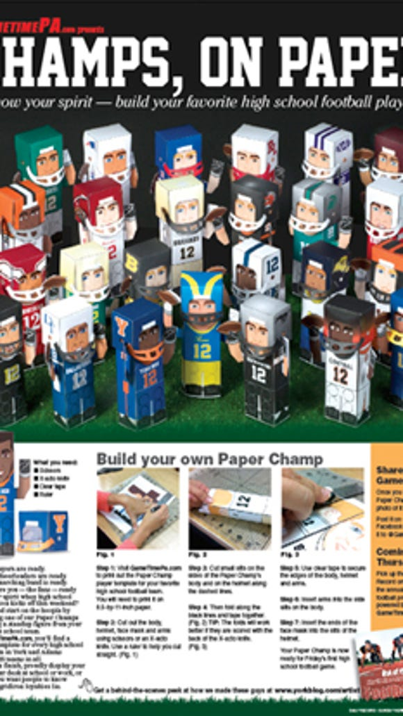 Paper champs page