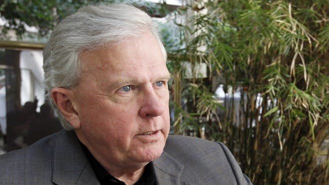 Democrat Parker Griffith said Monday he will give up his salary if elected governor and will redirect four years' worth of salary, about $451,580, to public education.
