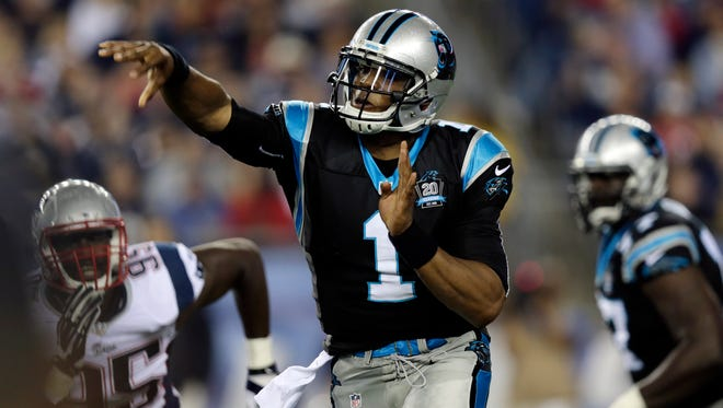 Carolina Panthers quarterback Cam Newton  says that he'll be ready for the season opener against Tampa Bay on Sept. 7.