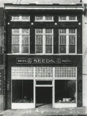 An undated photo of the Mayo's Seeds store at 419 Wall Avenue, the forerunner of today's Mayo Garden Centers. Construction of the TVA headquarters in 1972 took Mayo's downtown location and the wholesale seed and retail business consolidated in the Bearden store, which had opened in the 1950s.