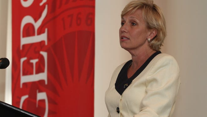 Lt. Gov. Kim Guadagno will be among the many speakers at The Innovations in Undergraduate Business Education Conference from Oct. 26 to 28 at Rutgers Business School.