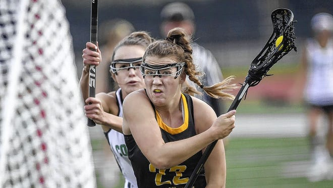Upper Arlington's Ellena Schildmeyer, a Virginia recruit, finished her prep career with 77 goals and 42 assists. She was named an All-American and first-team all-state after her junior season.