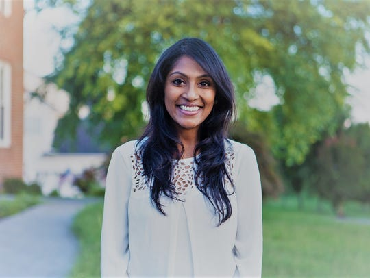 Krishanti Vignarajah is a Democratic candidate for