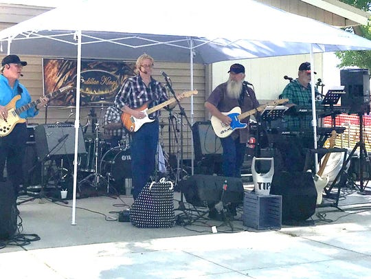 The Cadillac Kings entertained Saturday afternoon during