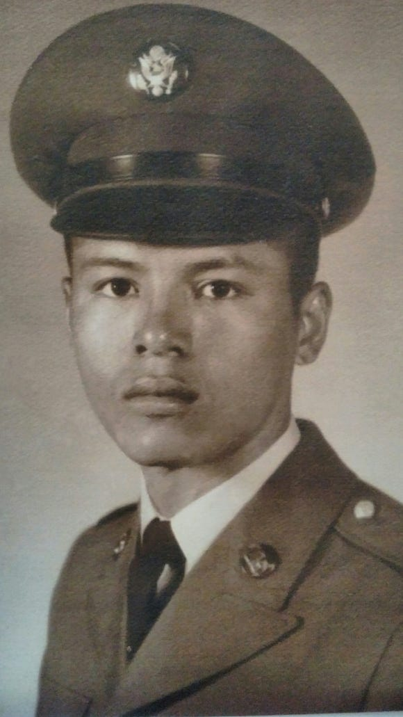 Jorge Chávez, mid-1960s, when he served in the U.S. Army during the Vietnam War.