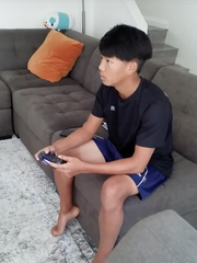 "Asher Kim, age 14, describes Fortnite as ""'The Hunger Games' except with guns."""