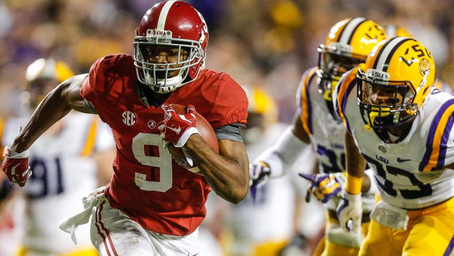 Will Alabama's Amari Cooper be the first wideout drafted?