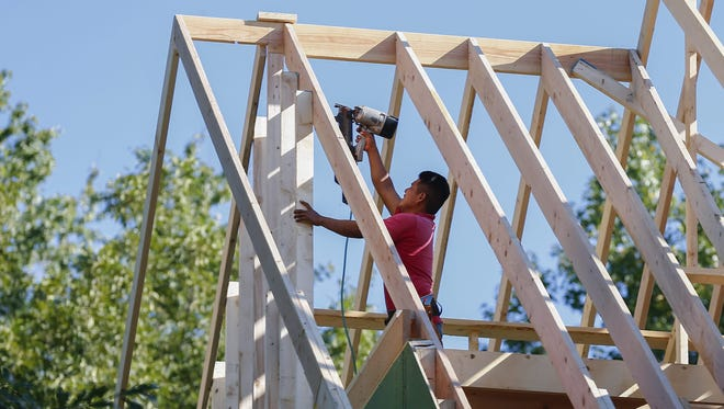 New home construction helped drive economic growth in the second quarter.