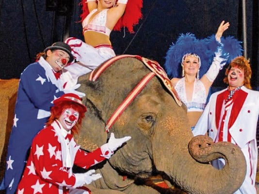 Courtesy Photo   Color and pageantry will be on display for two showtimes on Monday, May 4, when the Carson & Barnes Family Circus come to town, as special guests of the Deming-Luna County Chamber of Commerce.