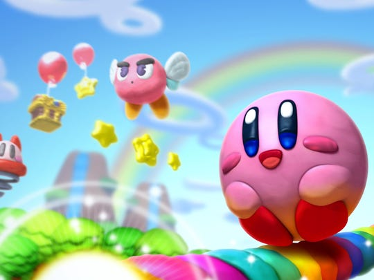 """Dark forces descend on Dreamland yet again in """"Kirby and the rainbow Curse."""""""