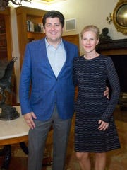 """Christian and Ann-Britt Angle attended a Feb. 1 event, which was an elegant kickoff to the Cancer Alliance of Help & Hope's signature fundraiser, """"Shop The Day Away Luncheon.""""  The luncheon was held on Feb. 22, and was a celebration of the efforts in the fight against cancer."""