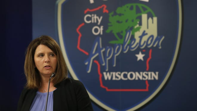 Outagamie County District Attorney Melinda Tempelis determined five Appleton police officers were justified in the use of deadly force in the May 7 shooting of David J. Robinson.