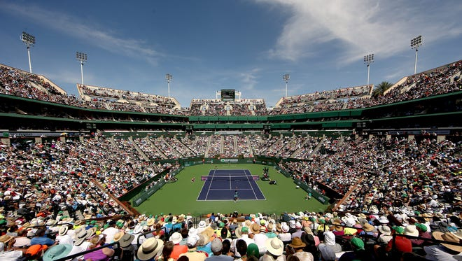 The BNP Pribas Open will run from March 6-19 at the Indian Wells Tennis Garden.