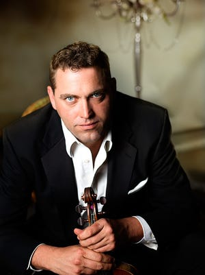 Violinist Steven Moeckel is the concertmaster of the Phoenix Symphony.