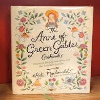 "A book of ""charming"" recipes for fans of Anne"
