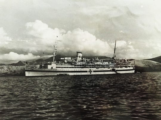 Miller served aboard USS Solace, a ship that transported over 400 patients from Okinawa and Guam to the base hospital.