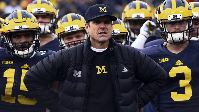 Jim Harbaugh of University of Michigan