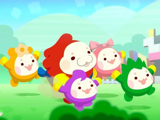 Pushmo World for the Nintendo Wii U features cute character designs and a colorful world to play in.