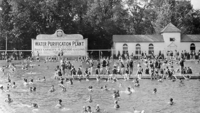 Undated photo of Broad Ripple Pool