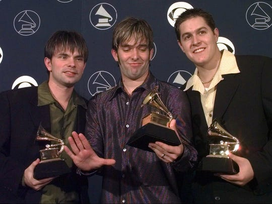 Jars of Clay, from left, Charlie Lowell, Stephen Mason