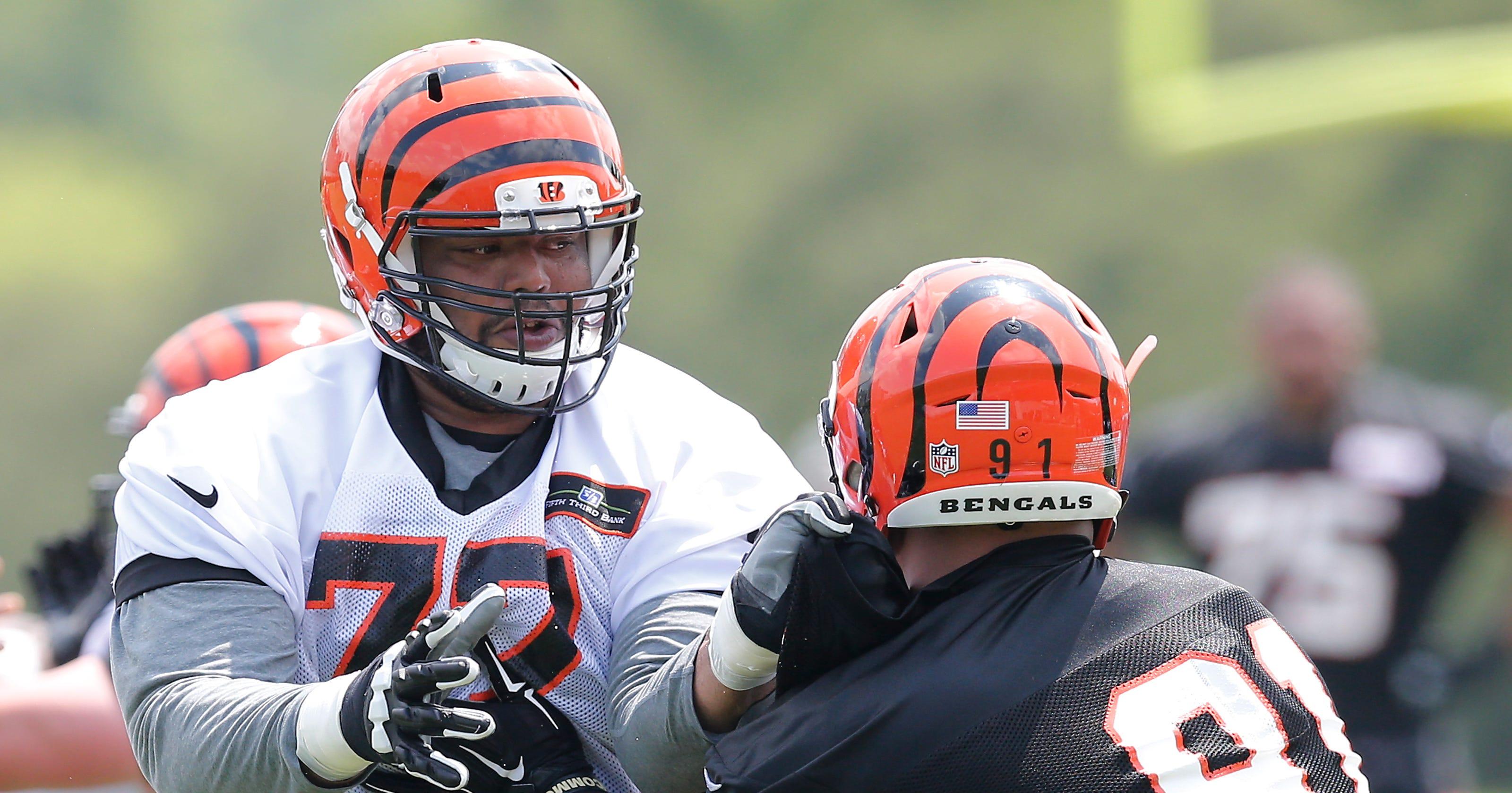 Cincinnati Bengals  Frank Pollack debuts new-look offensive line 0f8543fe5