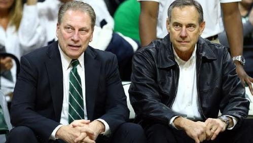 Whereas Mark Dantonio used to look to the basketball program for inspiration, Tom Izzo and the football coach now 'get to meet in the middle'