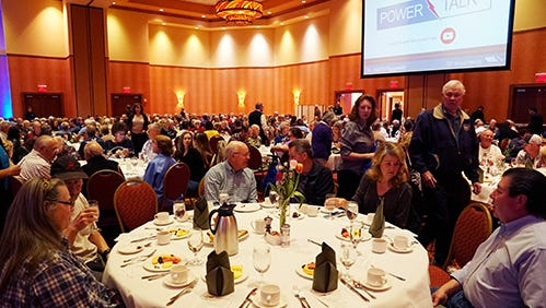 PVREA's foundation as a cooperative organization is on full display at the annual meeting of members.