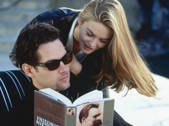 "Paul Rudd stars as Josh and Alicia Silverstone as Cher in the 1995 movie ""Clueless."""