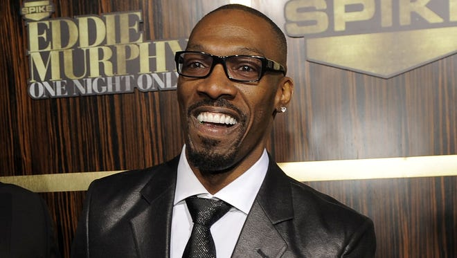 "Charlie Murphy in November 2012 at 'Eddie Murphy: One Night Only,"" a celebration of Eddie's career in Beverly Hills."