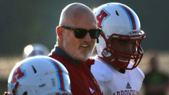 Arrowhead High School Varsity Football Coach Fritz