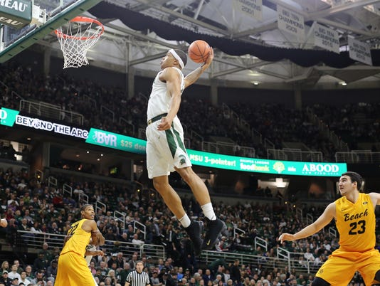 Miles Bridges dunk