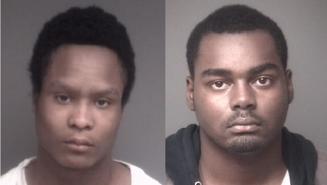 Natrell G. Jackson, 20, and Michael Vincent Whitehead, 18.
