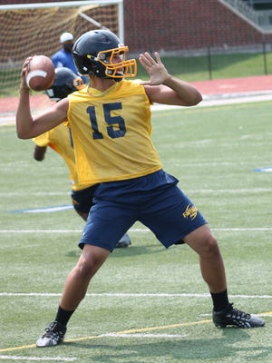 Walnut Hills senior Kevin Blount is a three-year starter for the Eagles at quarterback.
