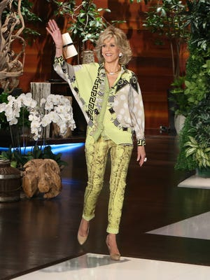 Jane Fonda on Thursday's 'Ellen' show.
