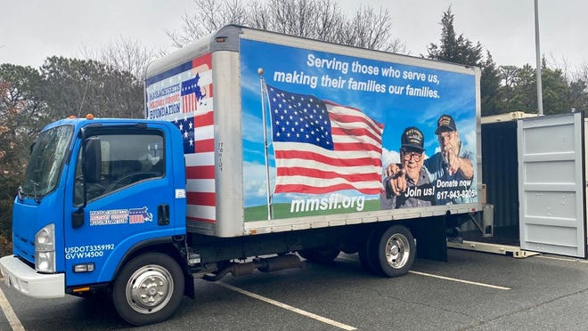 Distribution is set for 1 to 5 p.m. today in the back parking lot of the Cape Cod Veterans Center, 474 West Main St., Hyannis.