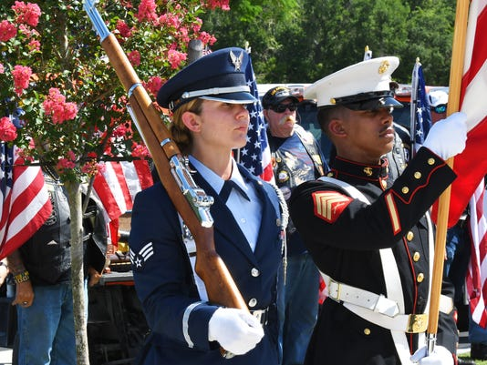 The unclaimed ashes of 21 veterans now laid to rest