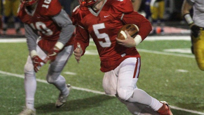 Shelby quarterback Brennan Armstrong is the Division IV All-Northwest District Offensive Player of the Year.