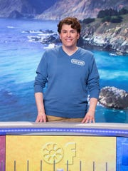 """North Brunswick's Kevin Bovino appears on the longrunning game show """"Wheel of Fortune"""" at 7:30 p.m. Tuesday on ABC."""