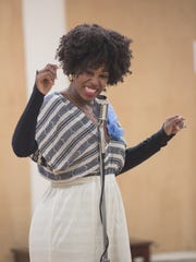 Marinda Anderson stars as Billie Holiday in the Dorset