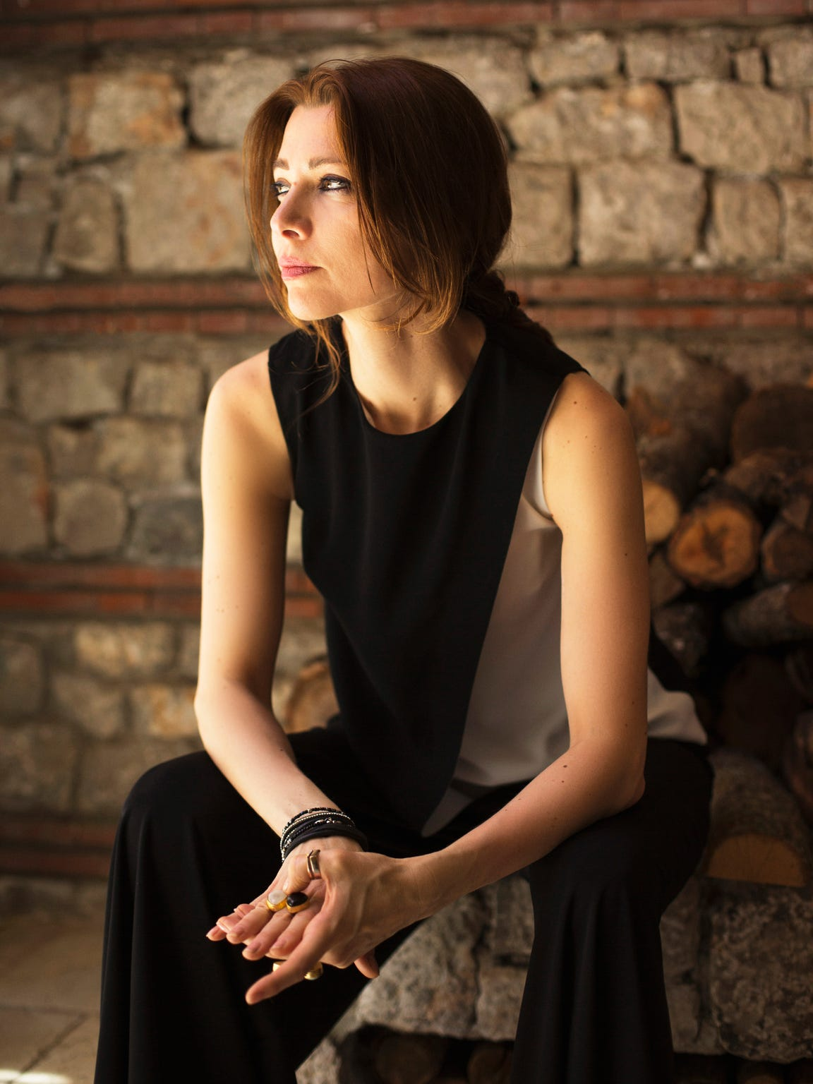 Elif Shafak, a Turkish author.
