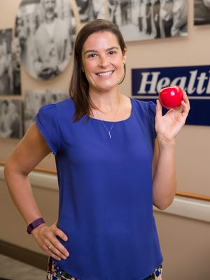 Kelly Freno, RDN, LDN, is an outpatient clinical dietitian for Health First's Holmes Regional Medical Center in Melbourne.
