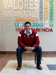 Adam García Amador, former Carlsbad High School principal.