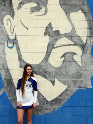 Pearl River senior cheerleader Kelsey Murphy, photographed March 1, 2018, is the Rockland County Scholar Athlete of the week.