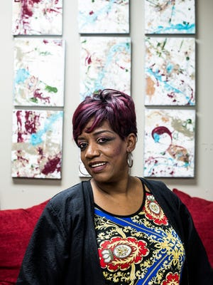 April 11, 2018 - Marilyn Thompson is a hairstylist, but she got into the business through originally taking up art, and she still creates abstract paintings for competitions in art shows. She is also one of a number of growing black women entrepreneurs in Memphis who turned to it because they wanted to avoid low-wage work.