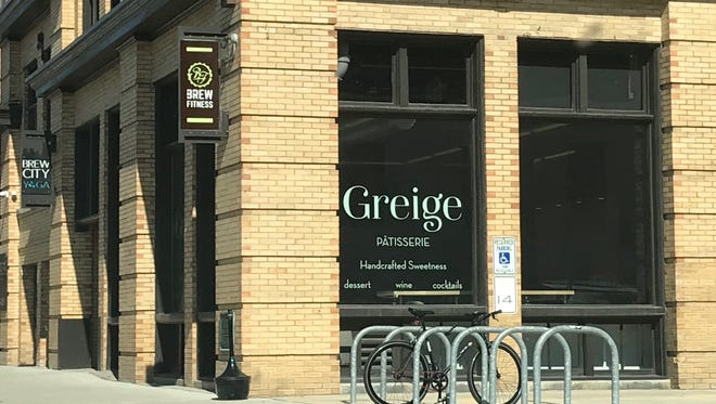 Greige Patisserie has breakfast pastries and fancy desserts, and pours coffee, wine and cocktails. The new bakery-cafe is at 408 W. Florida St.