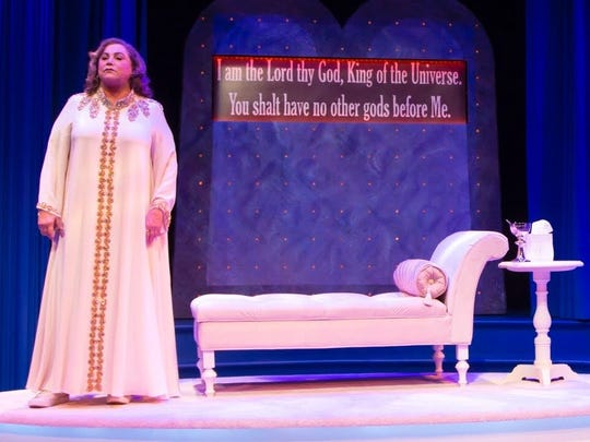 """An Act of God"" with Kathleen Turner plays through Dec. 23 at George Street Playhouse in New Brunswick."