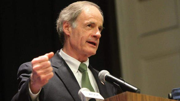 U.S. Sen. Tom Carper, D-Del.