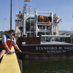 New, high-tech Fish & Wildlife research boat ported in Kewaunee