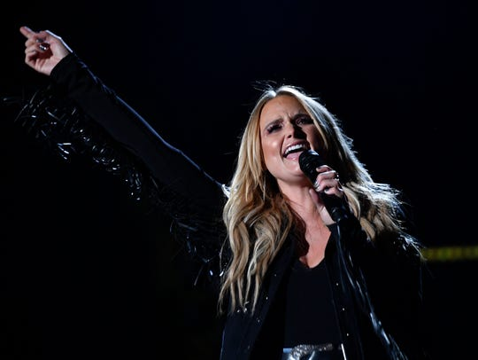 Miranda Lambert performs during CMA Fest 2017 in June.