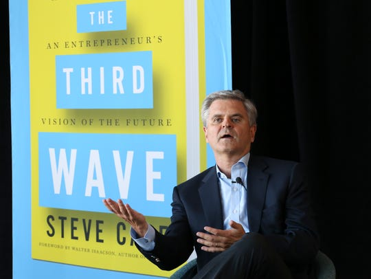 """Steve Case's 2016 book """"The Third Wave: An Entrepreneur's Vision of the Future"""" made the New York Times Best Seller List."""